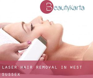 Laser Hair removal in West Sussex