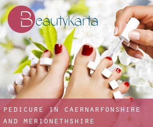 Pedicure in Caernarfonshire and Merionethshire